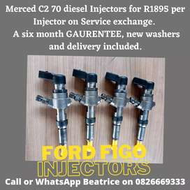 Ford Figo 1.4l Injectors available