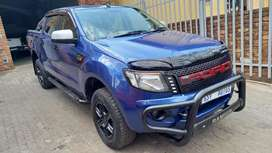 2013 Ford Ranger 2.2 TDCI XLT 4x2 Double Cab for sale.