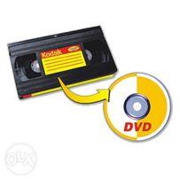 Оцифровка видеокассет VHS, VHS-C , запис з відеокасети на DVD Хмельниц