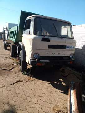 Ford tipper stripping for spares