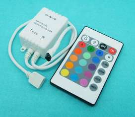 LED Colour changing strip lighting with remote control