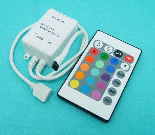LED Colour changing strip lighting with remote control 0