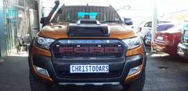 2016 MODEL FORD RANGER AUTOMATIC HIRIDER WHITE TRACK 3.2 ENGING