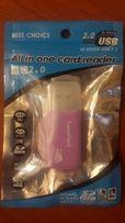 Картридер TransFlash MicroSD-USB