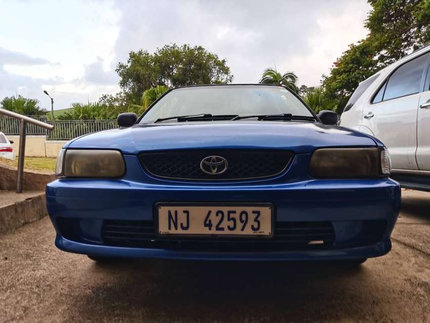 2002 Toyota tazz130 sport excellent condition