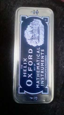 The Helix Oxford set of Mathematical Instruments