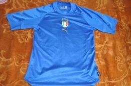 Koszulka Puma Italia błękitna