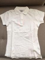 Piazaitalia футболка белая поло 9 лет. Италия. Новая. Для школы