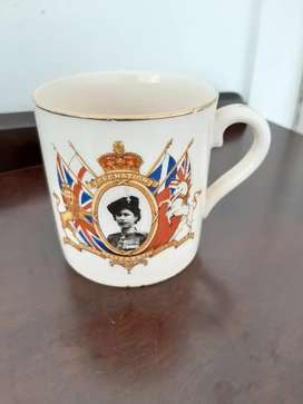 1953 coronation mug Queen Elizabeth II