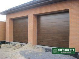 Ворота гаражные секционные Alutech 2750*2500