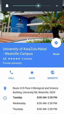 LOOKING FOR A LIFT CLUB TO UKZN WESTVILLE CAMPUS