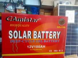 Brand New GAmistar batteries 100ah 12v