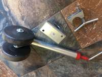 Image of heavy duty jockey wheel