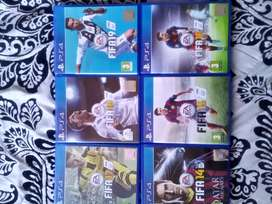 Fifa 14-19 PS4 games R300 each