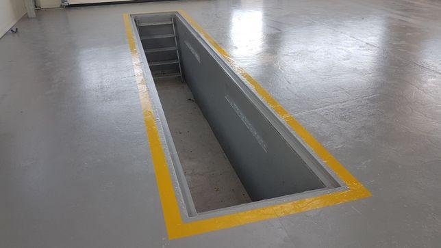 Auto-Kanał samochodowy, warsztatowy, szczelny odlew betonowy dł 7metr Parznice - image 6