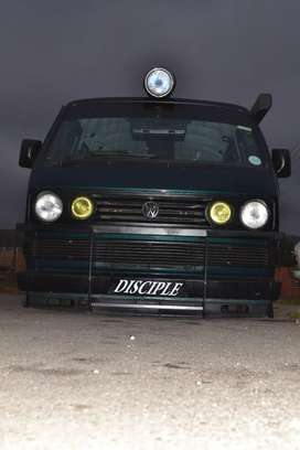 T3 Microbus on Airlift suspension all around independe