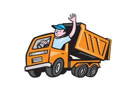Tip truck driver required