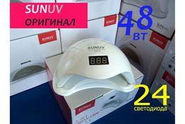 ОРИГИНАЛЬНАЯ SUN5 48 Вт от SUNUV Гарантия Лампа для маникюра UV Led