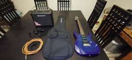 Ibanez Gio with Amp and Carrybag