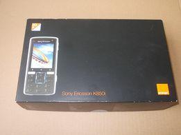 Sony Ericson K850i - Pudełko, słuchawki, przewód USB, płyta CD, instr.