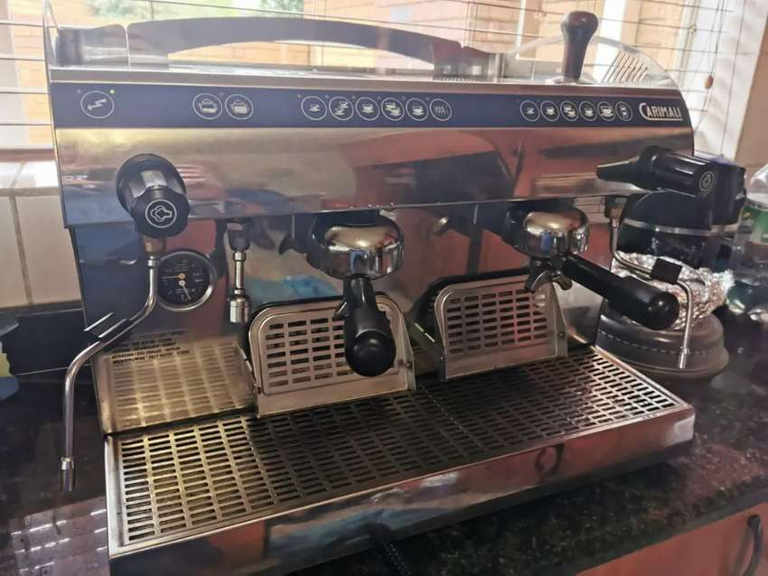 CARIMALI 2 GROUP COMMERCIAL COFFEE MACHINE