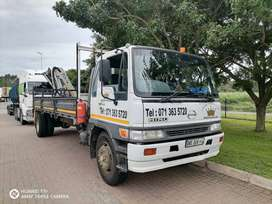 8ton crane truck for hire