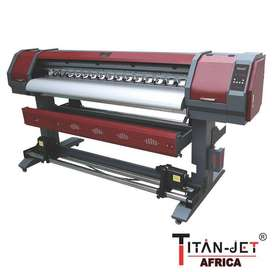 1.3m Titanjet Eco-Solvent Ink Large Format Printer in good condition