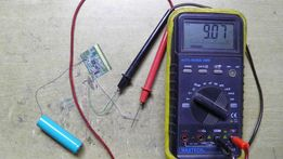 Преобразователь 3,3V в 9V для питания тестера от одного аккумулятора