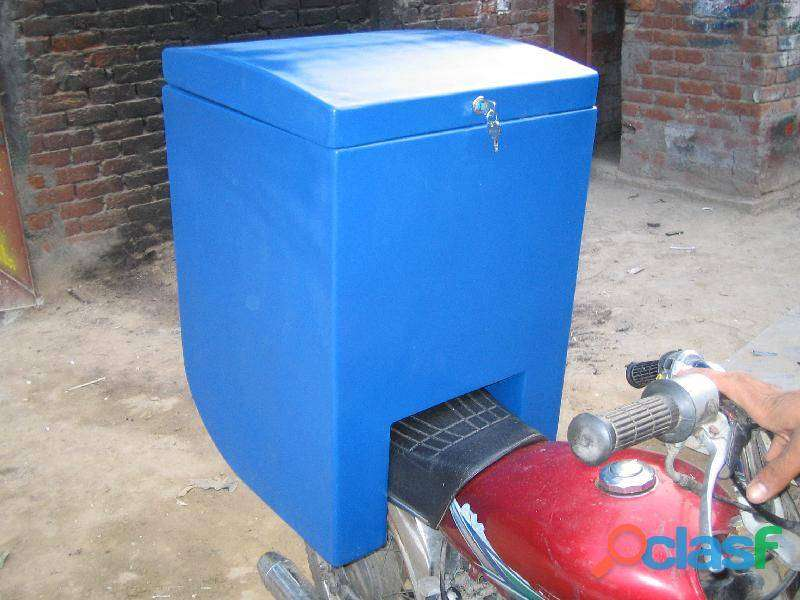 Motorcycle delivery/dispatch box 0