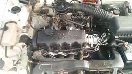 Hyundai 1.3 xs very good condition bought new starter new distributor