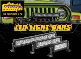 LED bar lights, straight, curved, assorted lengths