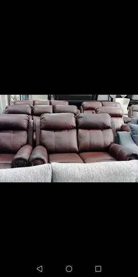 Retail Price R 38 999 Brand New Genuine Leather 6 Seater Lounge Suite