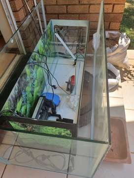 Fish tanks and equipment