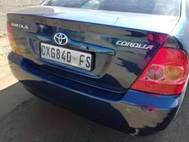 1.6 Toyota Corolla Runx shape. Start and go. Second engine