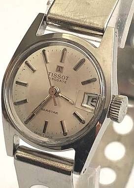 VINTAGE TISSOT LADIES WATCH, SEASTAR VISODATE, MANUAL WINDING 1970, WI