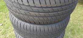 4 Brand New Tyres For Sale 225-50-R15