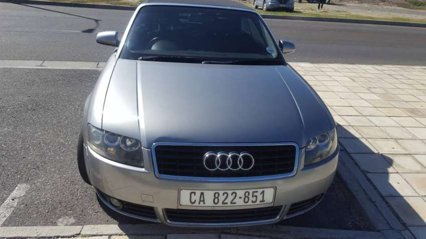 Audi A4 Convertible for Sale 0
