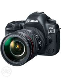Canon EOS 5D Mark IV DSLR Camera with 24-105mm f/4L II Lens 0
