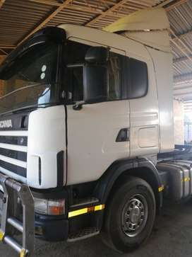 Scania R124G 420 Opticruise