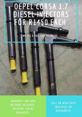 Opel corsa 1.7 diesel Injectors available