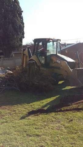 DEMOLISHING, RUBBLE REMOVAL,  SITE CLEARANCE