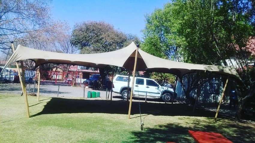6x6m (36sqm) Stretch Tent for Hire R4221 0
