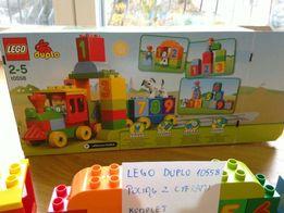 LEGO Duplo 10558 pociąg z cyframi cały komplet