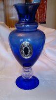 Duży włoski wazon kobalt