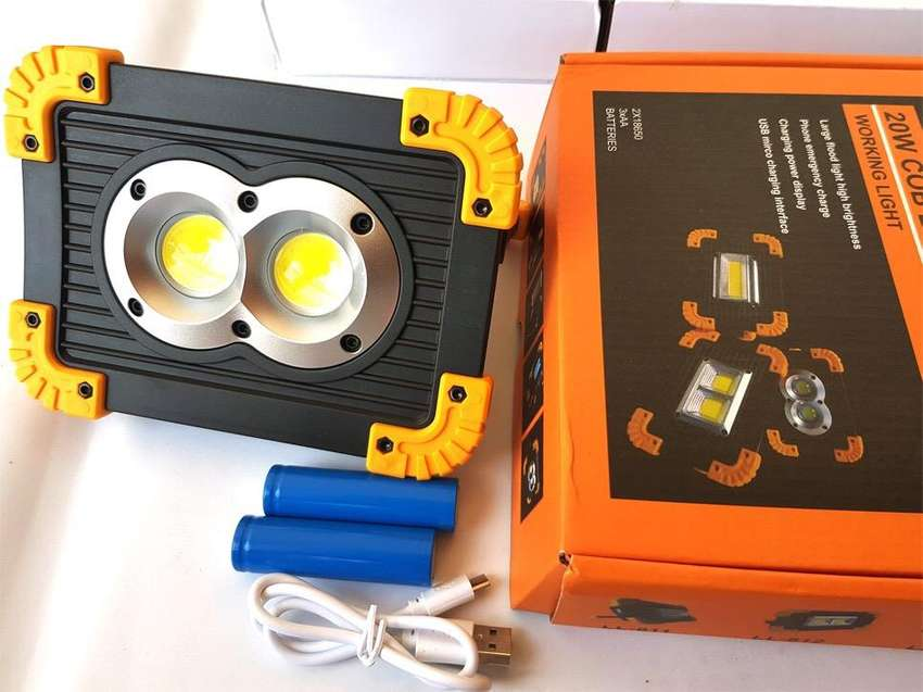 20w Work Light plus Phone Charger 0