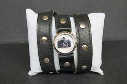 Кожаные наручные часы
