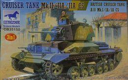 Сборная модель танка A10 Mk.I / Ia 1:35 Bronco