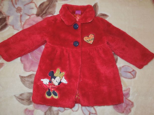 Шубка детская Минни Маус Minnie Mouse Disney.