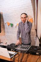 DJ (Ди-джей) на свадьбу, выпускной, юбилей, корпоратив и др праздники.