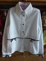 Продам блузку белую, школьную. Польша.